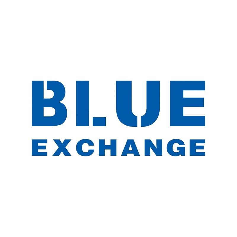 logo thương hiệu blue exchange