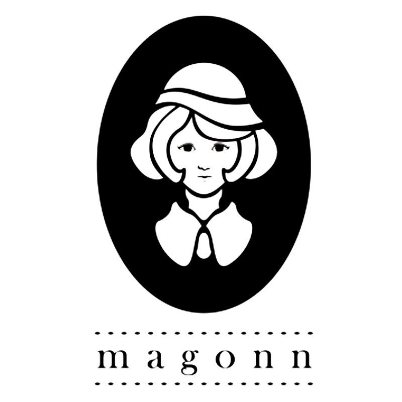 logo thương hiệu thời trang Magonn