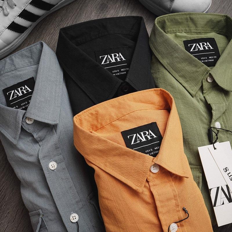 áo sơ mi nam Zara