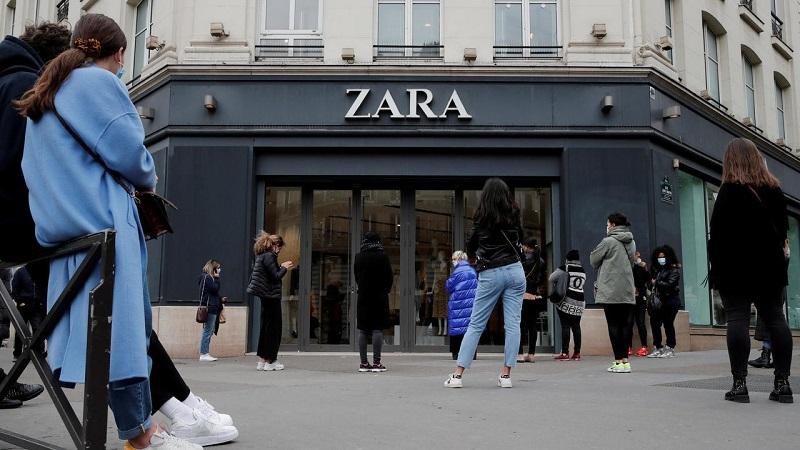 thương hiệu quần áo nổi tiếng Zara