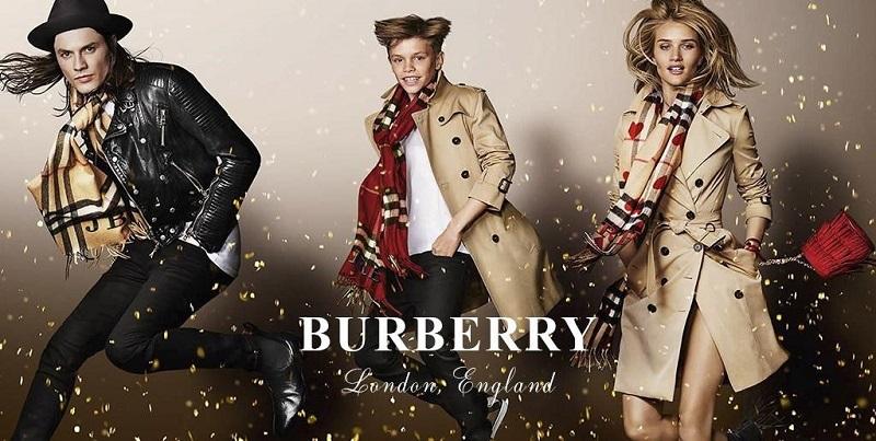 thương hiệu quần áo burberry