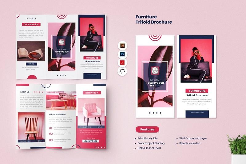 Brochure ấn tượng giúp quảng bá sản phẩm, dịch vụ hiệu quả