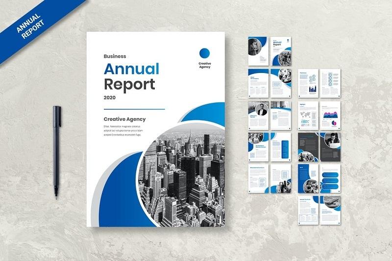 Mẫu báo cáo thường niên của doanh nghiệp