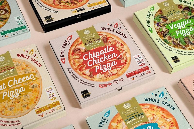 Thiết kế mẫu hộp đựng bánh với nhiều họa tiết khác nhau