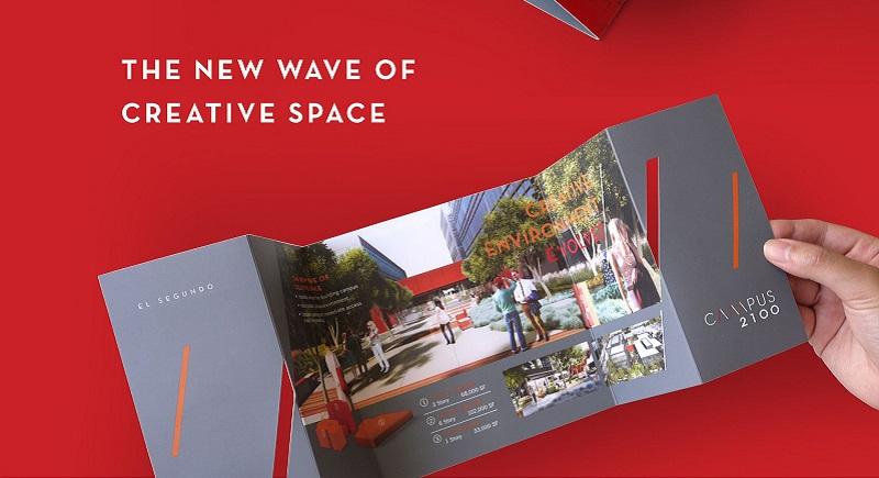 Brochure ấn tượng cho ngành nội thất kiến trúc