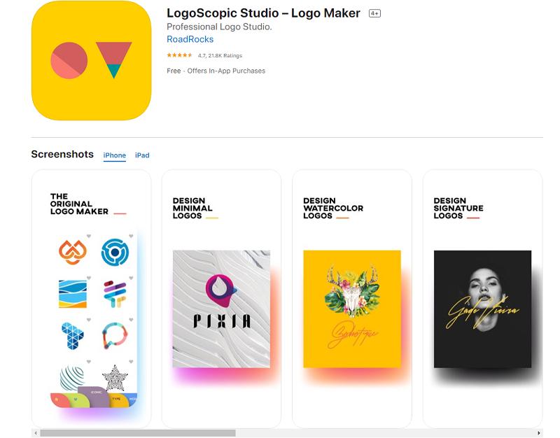 App thiết kế logo maker