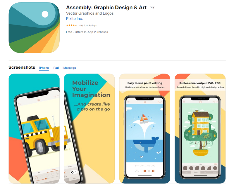 app thiết kế Assembly – Art and Design