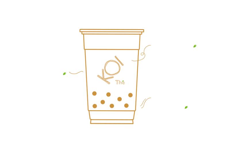 logo thương hiệu KOI Thé