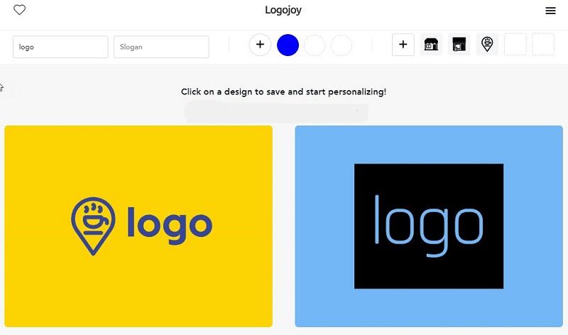 ứng dụng thiết kế logojoy