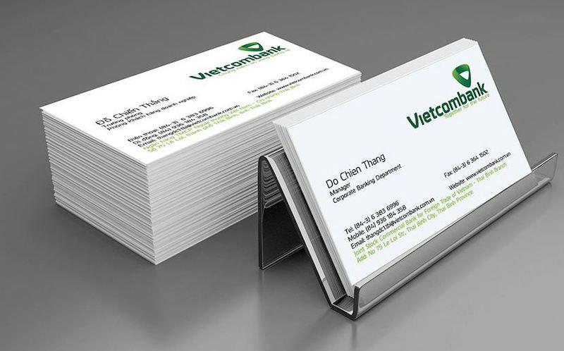 Sử dụng giấy bóng để làm thẻ card