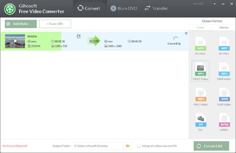 Gihosoft Free Video Converter