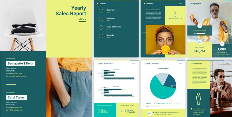 Thiết kế BCTN ấn tượng giúp quảng bá thương hiệu và sản phẩm