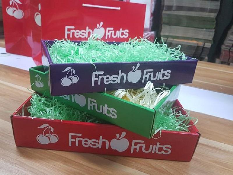 10 mẫu hộp giấy đựng trái cây
