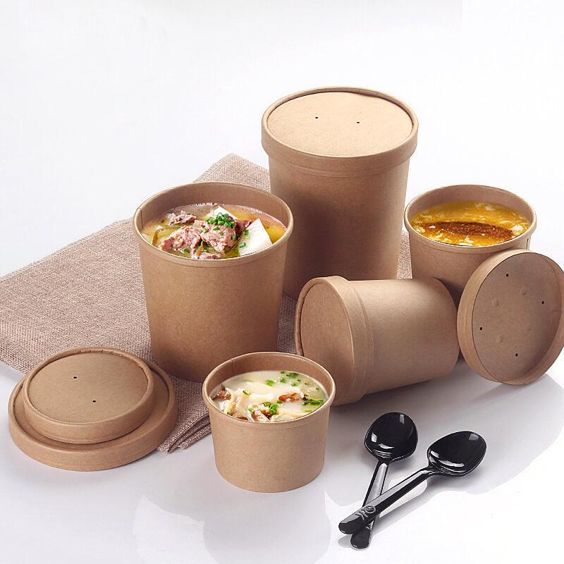10 mẫu hộp giấy đựng thức ăn