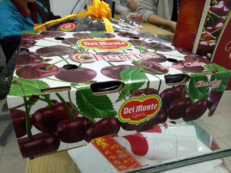 Mẫu hộp đựng trái cherry hot 2021
