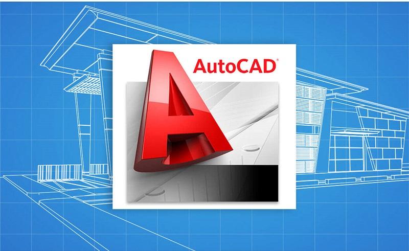 Biểu tượng của phần mềm AutoCad