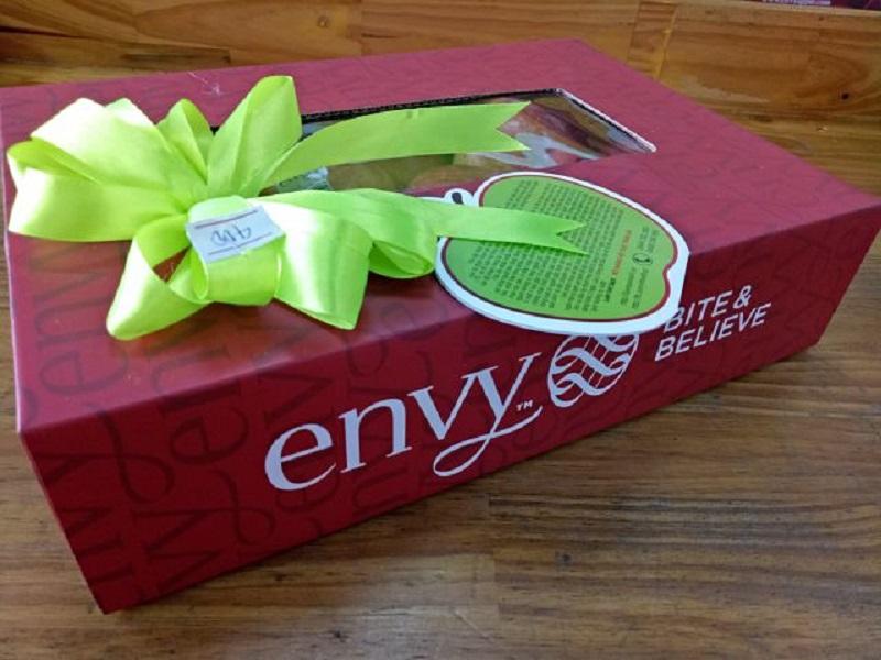 Thiết kế hộp chứa táo Envy