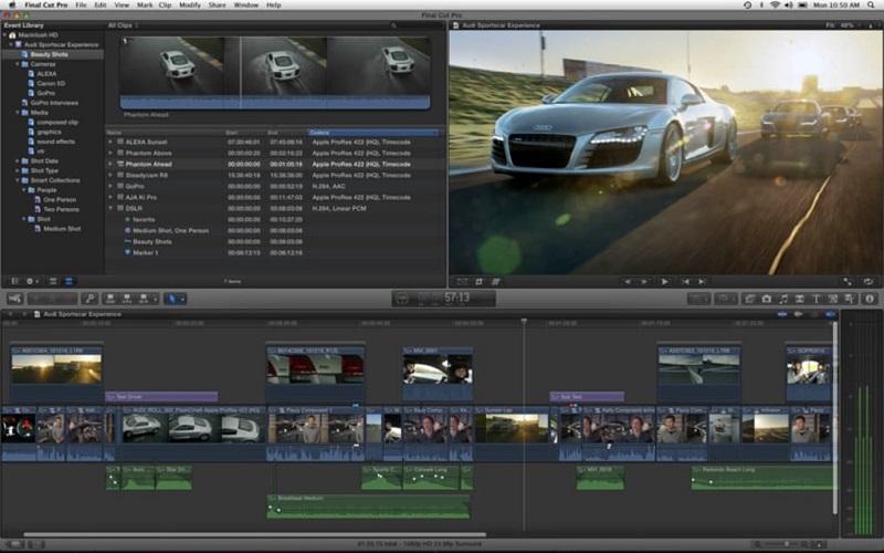 10 phần mềm chỉnh sửa video