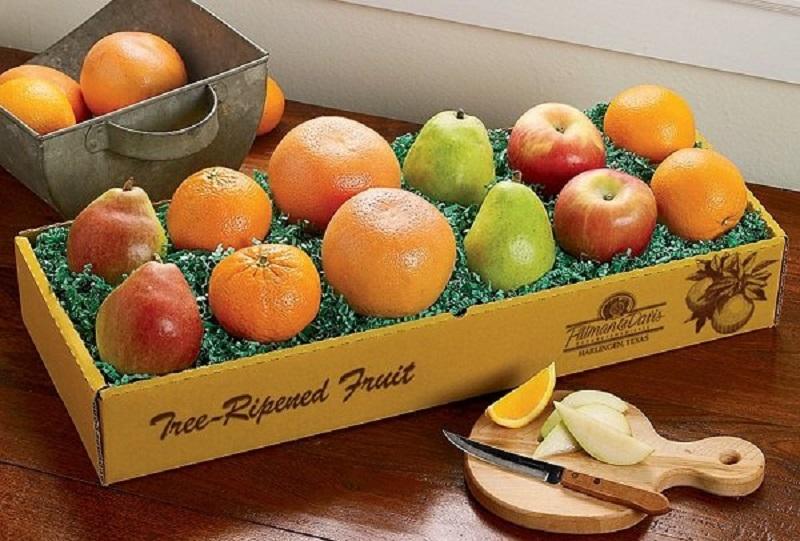 Mẫu hộp đựng trái cây có hình chữ nhật