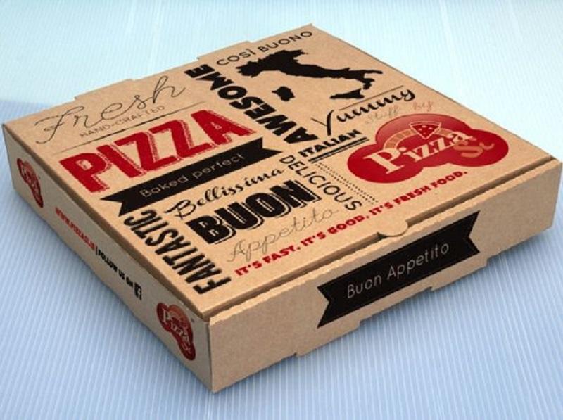 Mẫu hộp đựng bánh Pizza phổ biến hiện nay