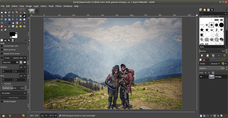 GIMP phần mềm thiết kế hình ảnh đẹp