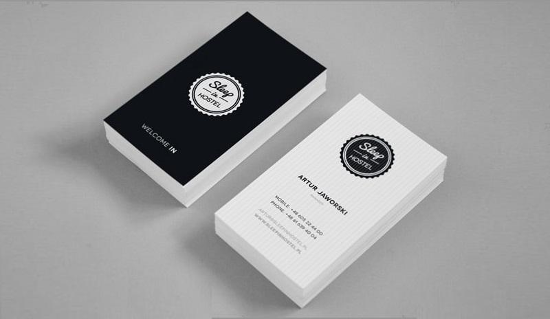 Card visit dành cho lĩnh vực khách sạn