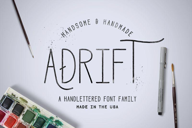 Adrift Font