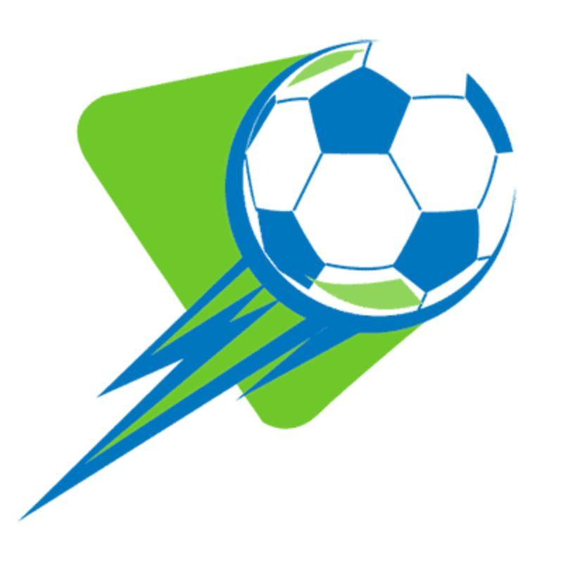 Một thiết kế độc đáo khi quả bóng đá được lồng vào hình đuôi sao chổi