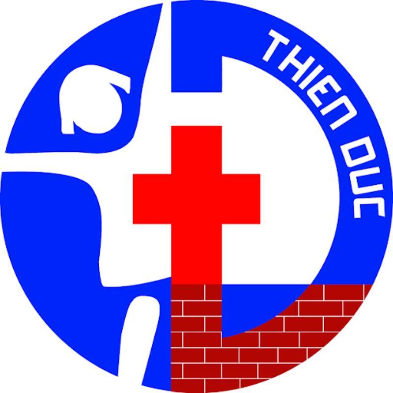 Sự độc đáo của logo bệnh viện Thiên Đức