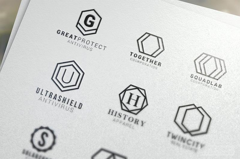 Ý nghĩa hình lục giác trong thiết kế logo