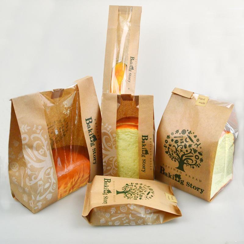 Hình 6: Mẫu bao bì thực phẩm túi Kraft