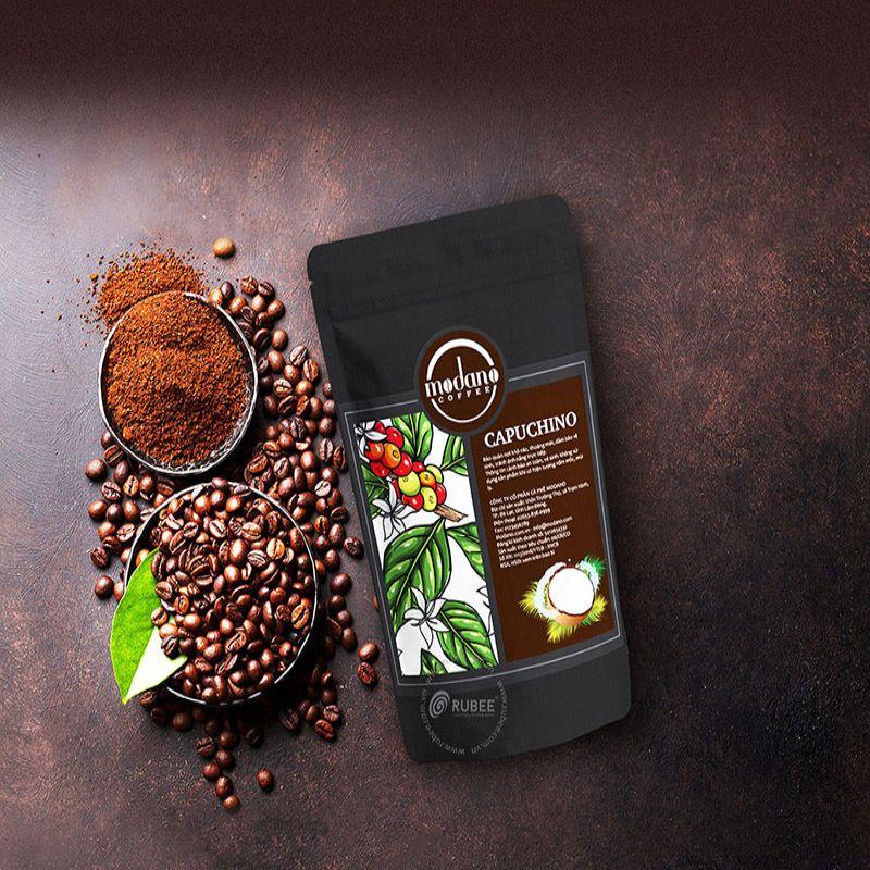 Hình 1: Bao bì cà phê hiện nay có nhiều mẫu mã, chất liệu khác nhau