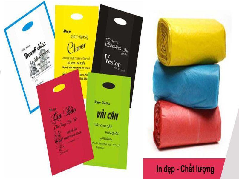 Hình 1: Bao bì nhựa với đa dạng chủng loại, màu sắc, kích thước khác nhau