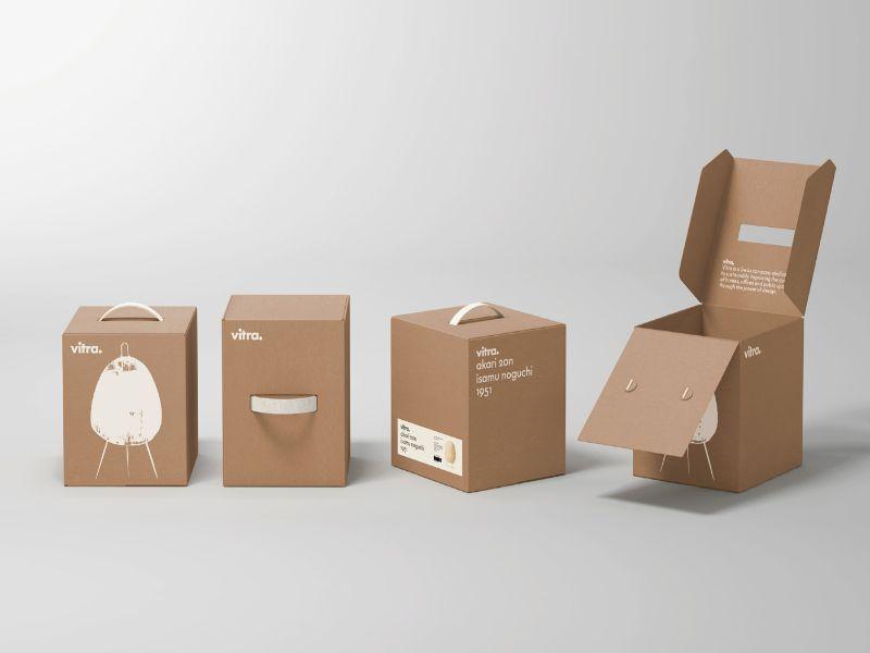 Hình 3: Bao bì giấy dạng hộp các loại