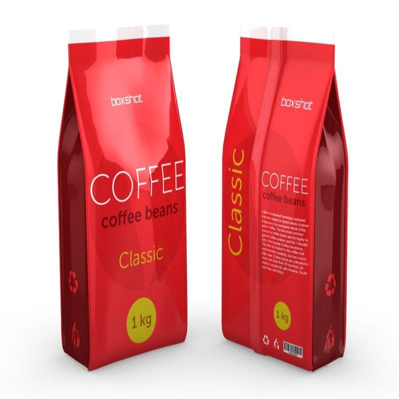 Hình 4: Bao bì cà phê nhựa PP đẹp