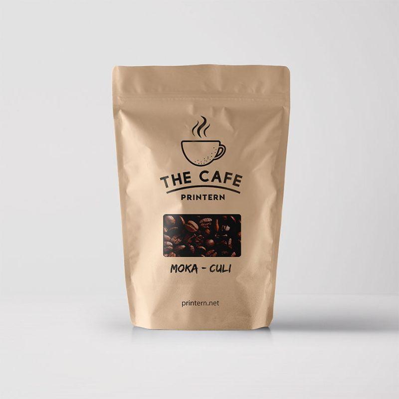 Hình 7: Mẫu bao bì cà phê túi zipper