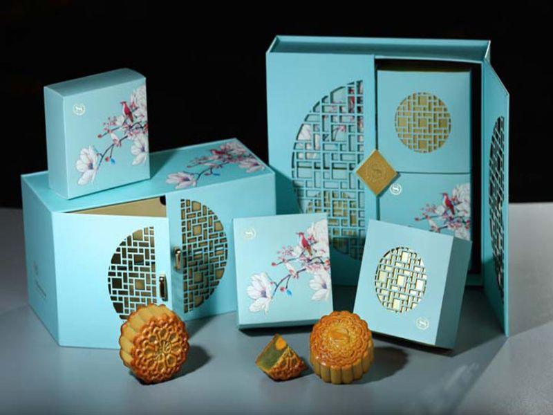 Hình 7: Thiết kế bao bì giấy dạng hộp mềm đựng bánh